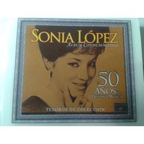 Cd Triple Sonia Lopez 50 Años De Historia Musical Lbf