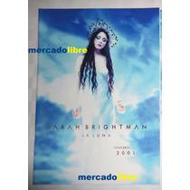 Sarah Brightman La Luna Tour Book + Ticket + Flyer