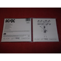 Ac/dc - Flick Of The Switch Cd Imp Ed 1990 Mdisk
