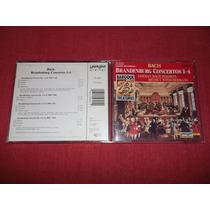Bach - Brandenburg Concertos 1-4 Cd Imp Ed 1990 Mdisk