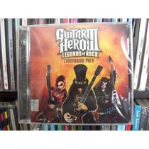 ¿guitar Hero 3¿ Legends Of Rock Soundtrack Cd Nuevo, Cerrado