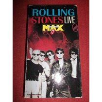 Rolling Stones - Live At The Max Vhs Usa Mdisk