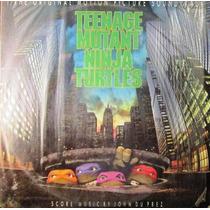 Soundtrack - Teenage Mutant Ninja Turtles Lp Con Insert