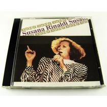 Susana Rinaldi / Monton De Vida Cd Raro Ed 1988 Imp. Canada