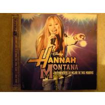 Hannah Montana Cd En Concierto Lo Mejor De 2 Mundos