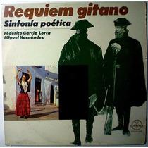 Federico Garcia Lorca Miguel Hernandez Lp Requiem Gitano Lbf
