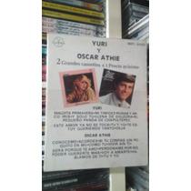 Yuri Y Oscar Athie 2 Cassettes Nuevos Descontinuado Exitos