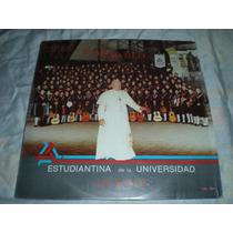 Disco Acetato Vinil Estudiantina De La Universidad La Salle