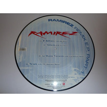 Vinilo Maxi 12 Ramirez - El Gallinero Fotodisco Techno Nuevo