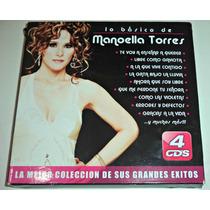 Cd Lo Esencial De Manoella Torres / 4 Cds Pack Seminuevo