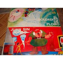 Disco De Acetato El Soldadito De Plomo, Juan Sin Miedo