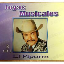 El Piporro Joyas Musicales Box Set 3 Cds Como Nuevo