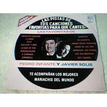 Disco Lp Pistas De Canciones - Karaoke P. Infante Y J. Solis