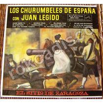 Españoles, Los Churumbeles De España Con Juan Legido, Lp 12´