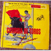 Españoles, Corrida De Toros, Lp 10´, Hecho En México