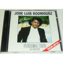 Cd Jose Luis Rodriguez El Puma / Personalidad 20 Exitos