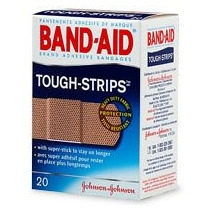 Band-aid (r) Brand Tela Flexible Tough-strips à ¢ Caja De