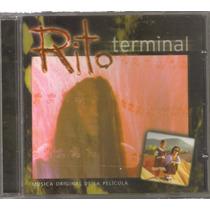 Rito Terminal - Musica Original De La Pelicula - Cd Rock