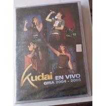 Kudai En Vivo Gira 2004 - 2005 Dvd Megararo Nuevo Sellado