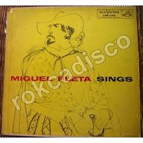 Españoles, Miguel Fleta Sings, Lp 12´, Fn4