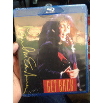 Paul Mccartney Get Back Blu-ray 1989-1990 Nuevo Y Sellado