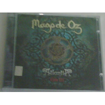 Cd Doble De Mago De Oz:atlantia Gaia Iii 2010