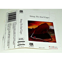 Sting / The Soul Cages / Audio Cassette