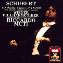 Schubert - Symphony No. 8 Cd Clasica Riccardo Muti Op4