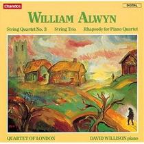 Alwyn - Rapsodia Para Piano, Cuarteto Cd Violin Clasica Op4