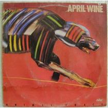 April Wine / Animal Grace 1 Disco Lp Vinilo
