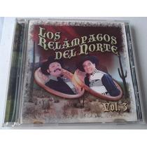 Ramon Ayala Cornelio Reyna Los Relampagos Del Norte Vol 3 Cd