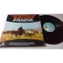 Western - Franck Pourcel Y Su Gran Orquesta Lp Vinyl