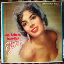 Bolero, Elvira Quintana, Mis Boleros Favoritos, Lp 12´,