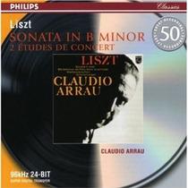 Piano Claudio Arrau - Liszt Sonata Estudios Cd Bfn Richter