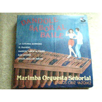 Disco Lp Marimba Orquesta Señorial De Carlos Cruz Vazquez