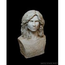 Jim Morrison The Doors Escultura Única En El Mundo