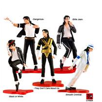 Michael Jackson Figura Muñeco Toys 5 Pzas Original