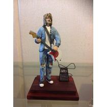 Kurt Cobain Nirvana Guitarhero Rock Figura De Colección