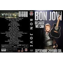 Bon Jovi Dvd Mexico Becaude We Can Tour 29 Sep 2013 Foro Sol