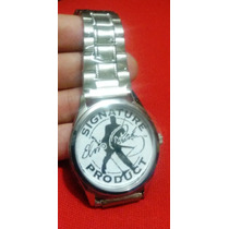 Reloj Elegante (inoxidable) Elvis, Beatles, Cualquier Diseño