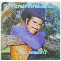 Vicente Fernández / ...es La Diferencia 1 Disco Lp De Vinil