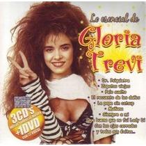 Lo Esencial De Gloria Trevi 3 Cds + Dvd 22 Videos Exitos