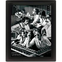 John Lennon Cartel - Watching The Wheels 25.4cmx 20.3cm 3d