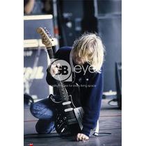 Kurt Cobain Cartel - Oficial Nirvana Maxi 61cmx 91cm