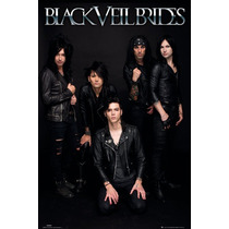 Black Veil Brides - Banda Maxi Cartel 61x 91.5cm Música Rock