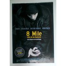 Eminem Mini Poster Original Mexicano De La Pelicula 8 Mile