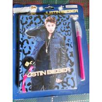Libro De Dibujo Y Pluma Justin Bieber