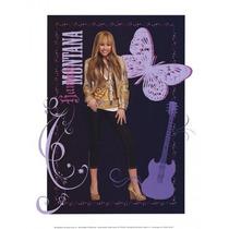 Hannah Montana: Dorado Glamour Chica Cartel Impresión Walt