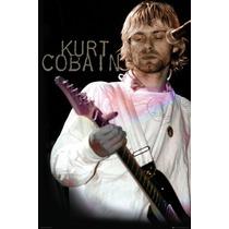 Kurt Cobain Cartel - Cocinero Bed Room Sala De Juegos Estudi