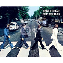 Beatles Cartel - El Abbey Road Crossing Mini 40cmx 50cm